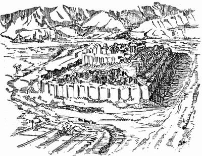400x310 Ziggurat Of Sialk 3rd Millenium Bc