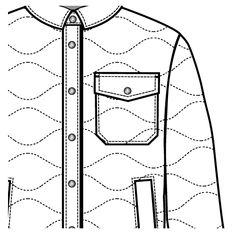 236x236 Corn Shape Zipper With Basic Zipper Pull Flat Sketch For Ma 1