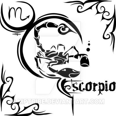 400x400 Zodiac Sign Tattoo Scorpio By Mptribe