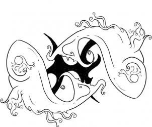 302x251 How To Draw Zodiac Sign Picies Step 5 Projects To Try
