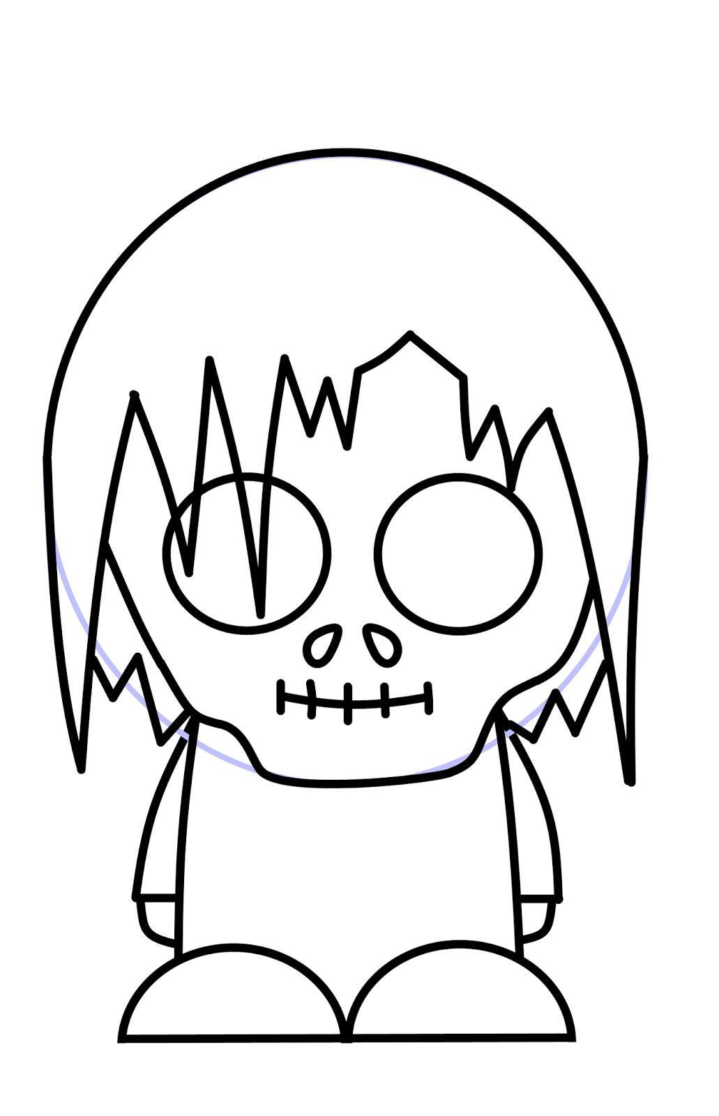 1031x1600 How To Draw Cartoons Zombie