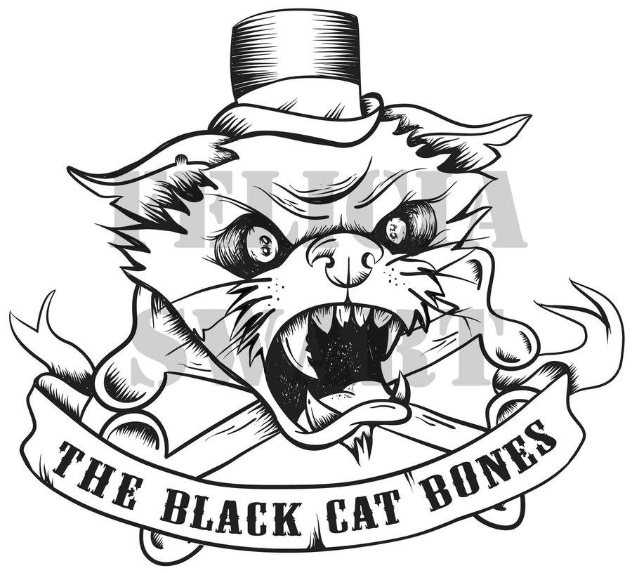 900x816 The Black Cat Bones