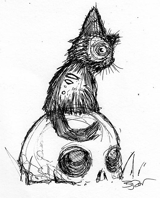 528x655 Zombie Cats October 2017