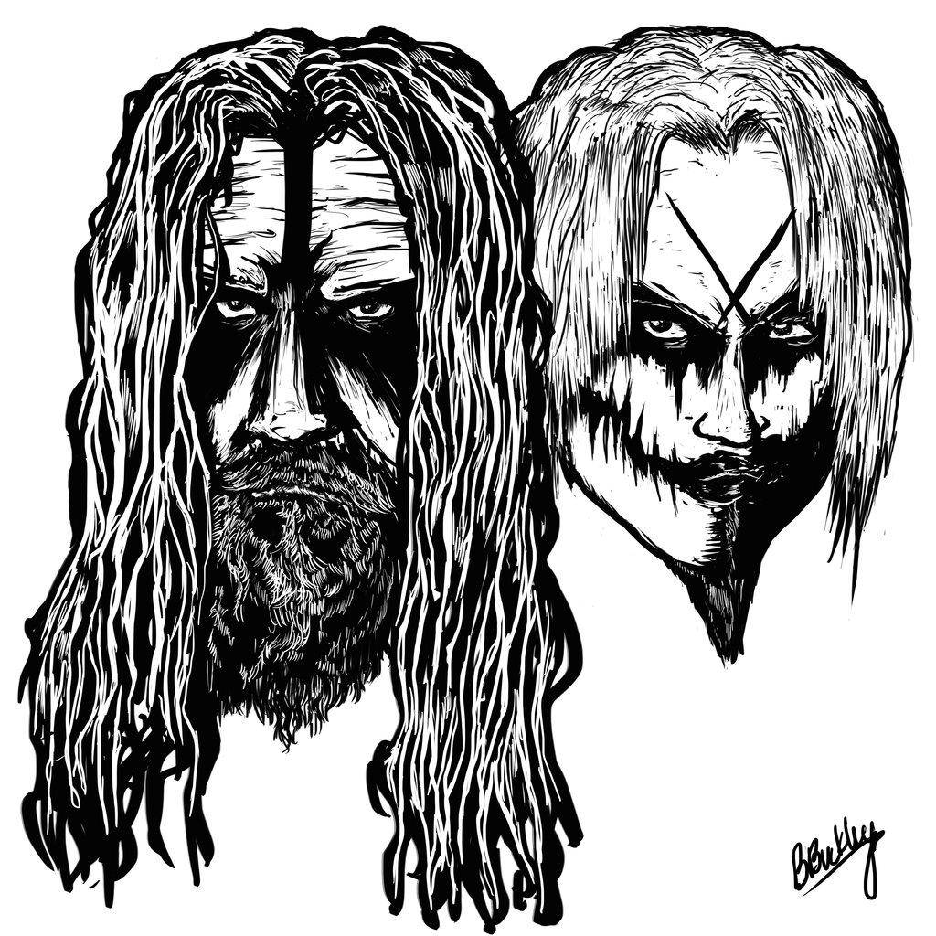 1024x1024 Rob Zombie Cartoon Drawings