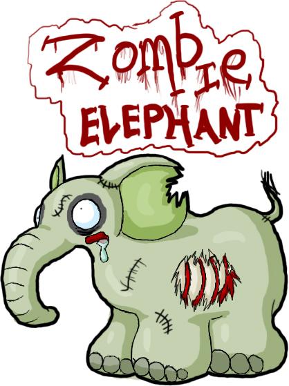 418x559 Zombie Elephant By Tibbers