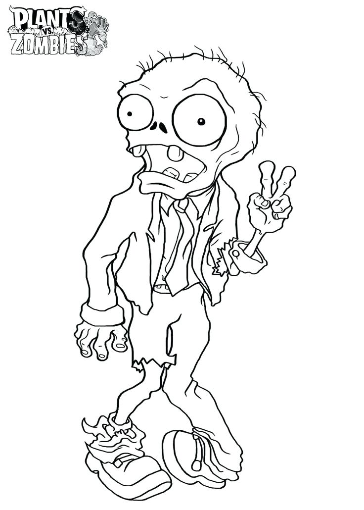 Zombie Drawing For Kids at GetDrawings