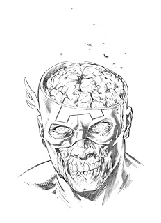 Zombie Face Drawing At Getdrawings Com Free For Personal Use