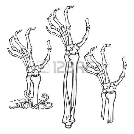 450x450 Zombie Hand Ok Sign Royalty Free Cliparts, Vectors, And Stock