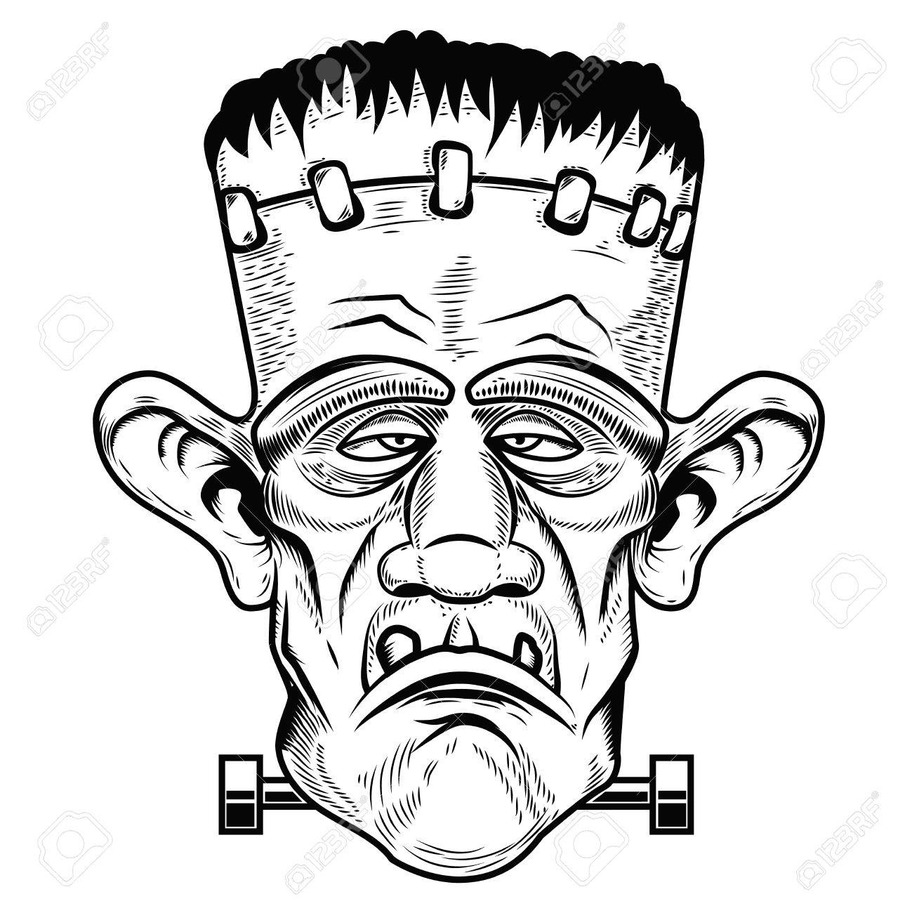 Zombie Head Drawing At Getdrawings Com Free For Personal Use