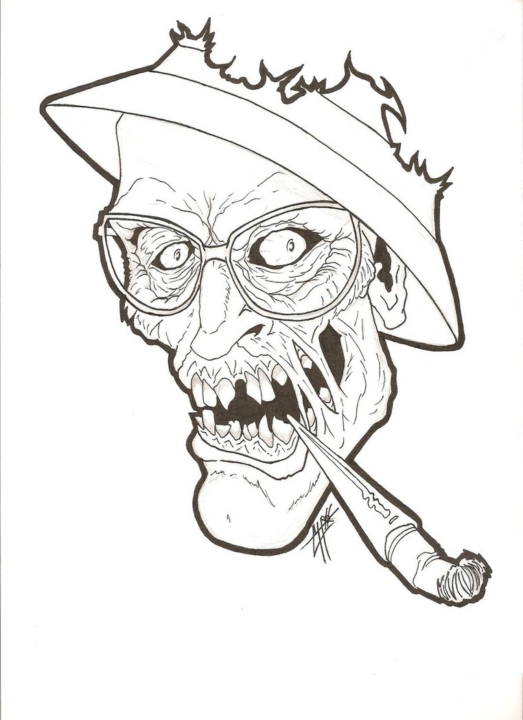762x1048 Colonel Zombie By Redkat81