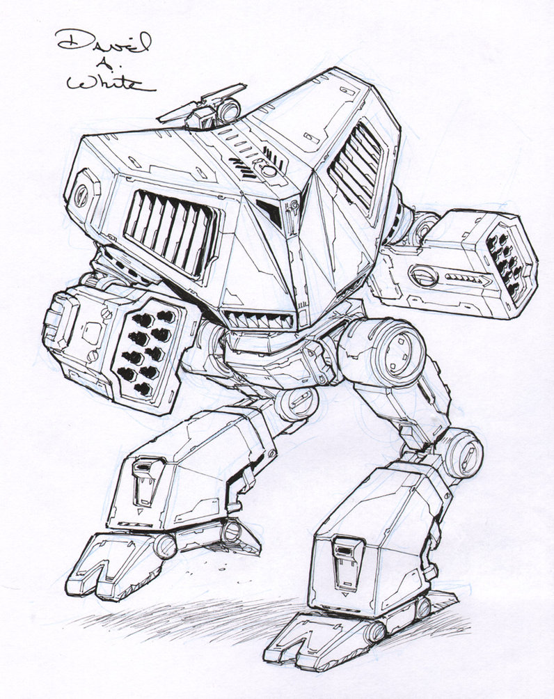 796x1004 Battle Cobra Mech Sketch By Mecha Zone