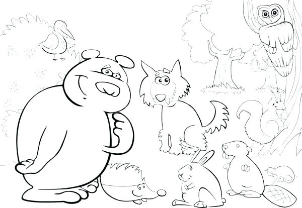 600x414 Zoo Animals Coloring Book Plus Zoo Coloring Sheet Free Printable