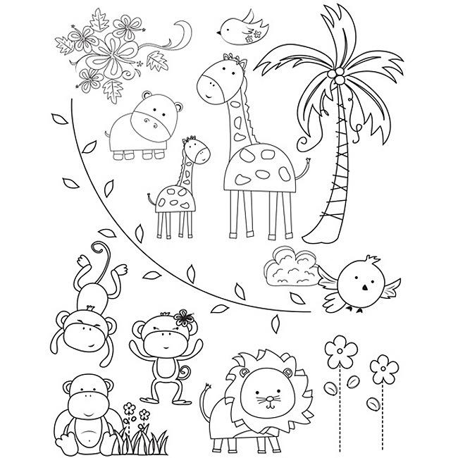 650x650 Zoo Animals Color It Zoos, Kids Colouring And Free