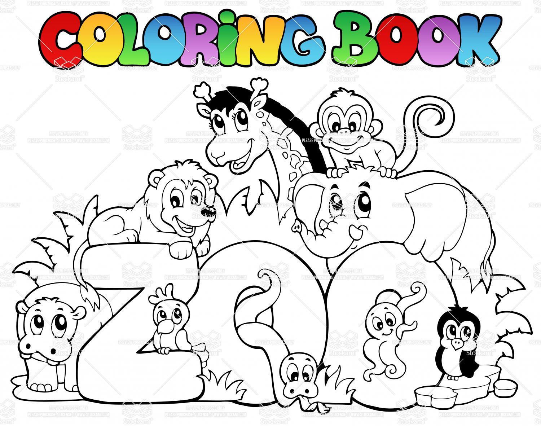 1500x1181 Cartoon Zoo Animal Drawings Draw Zoo Animals Set Cartoon Animals