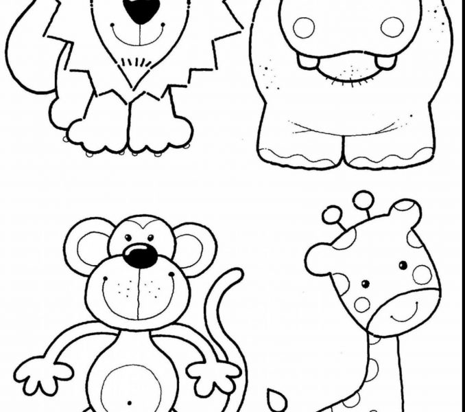 678x600 Coloring Pictures Of Zoo Animals Kids Coloring