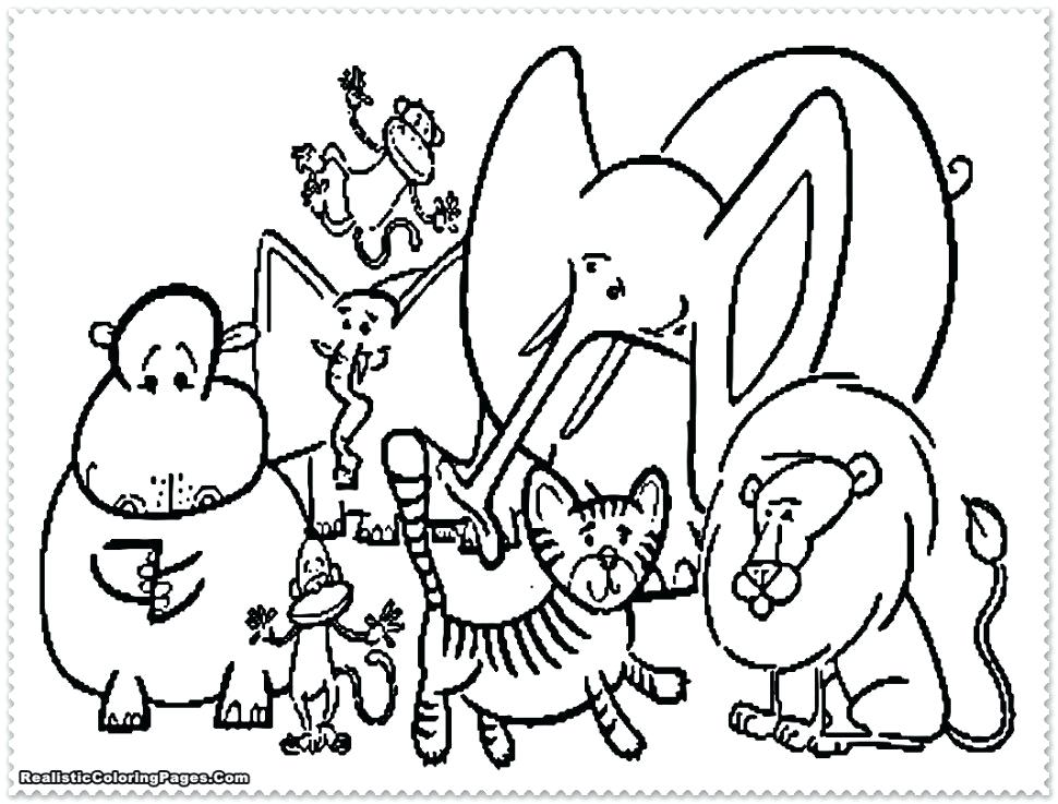 970x737 Europe Coloring Page Large Size Of Pictures Zoo Animals Kids