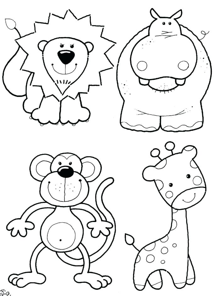 687x944 Free Printable Zoo Animals Coloring Pages Sensational Design Ideas