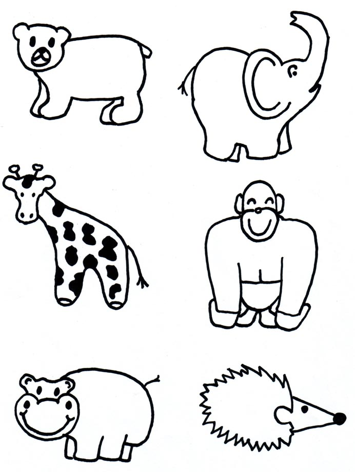 692x920 Photos How To Draw Zoo Animals For Kids,