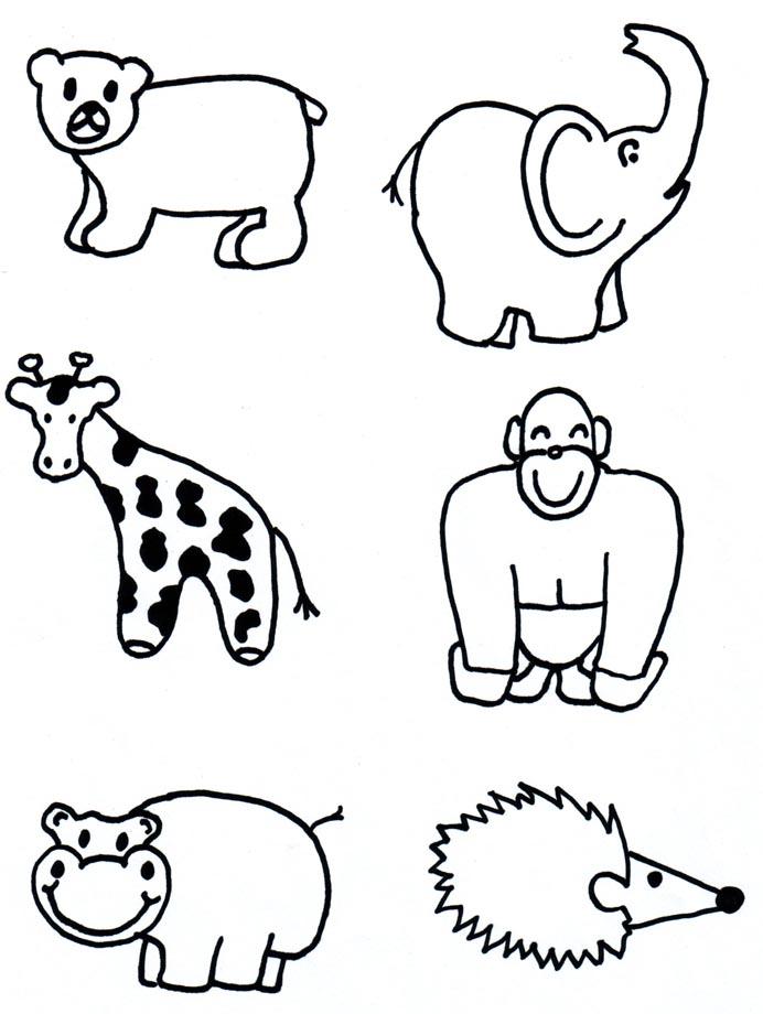 692x920 Bold Ideas How To Draw Zoo Animals Drawing Koala