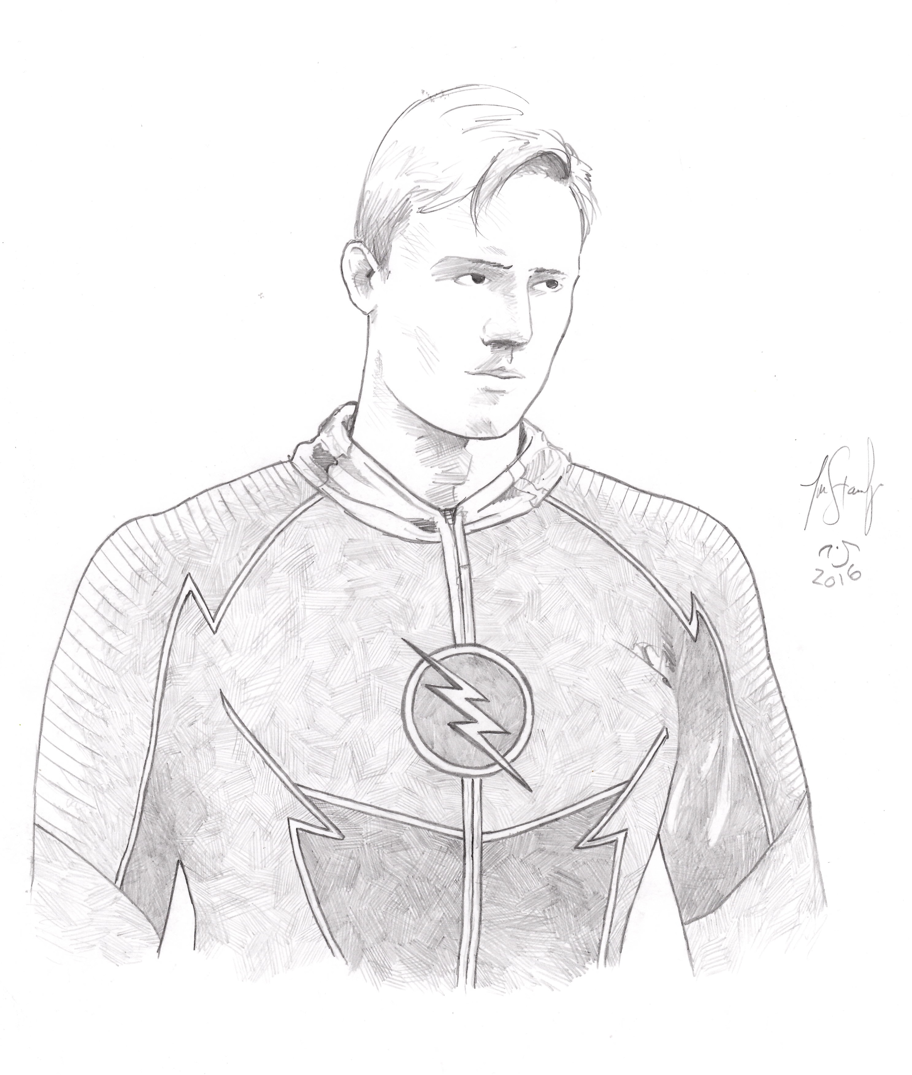 2974x3505 Jay Garrick As Zoom In The Flash Assassin Nation By Ever After