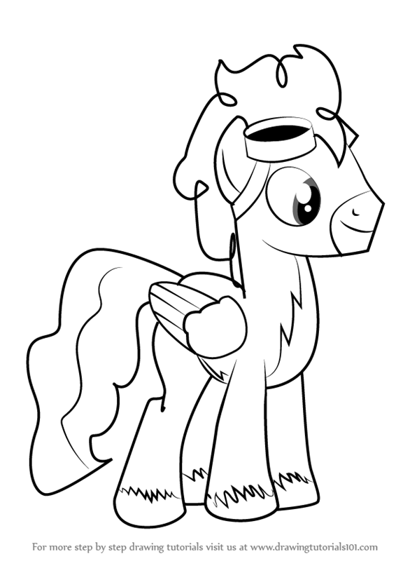 566x800 Learn How To Draw Silver Zoom From My Little Pony