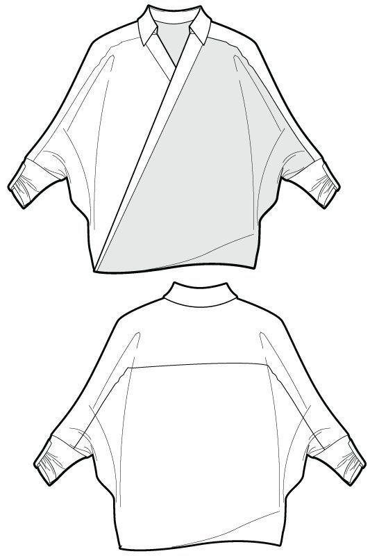 533x800 Rp092 Zoom Image Dibujo Plano Moda Sketches