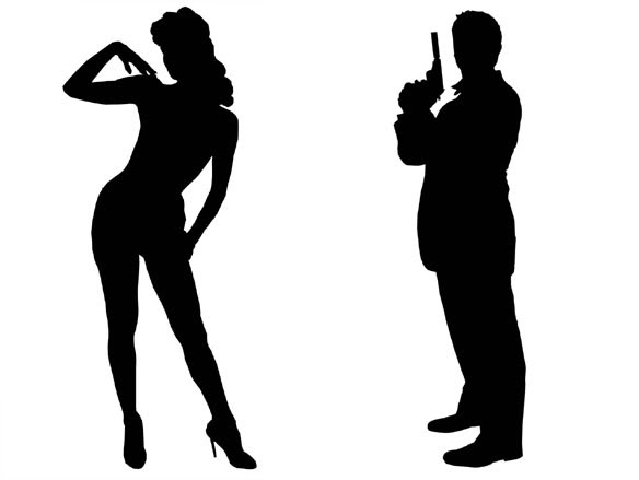 007 silhouette at getdrawings com free for personal use 007 rh getdrawings com james bond clipart james bond clip art free