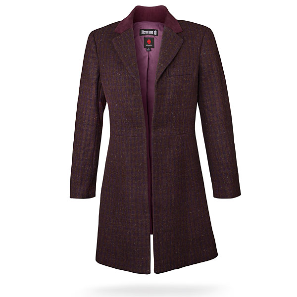 600x600 Doctor Who Ladies' 11th Doctor's Purple Coat Thinkgeek