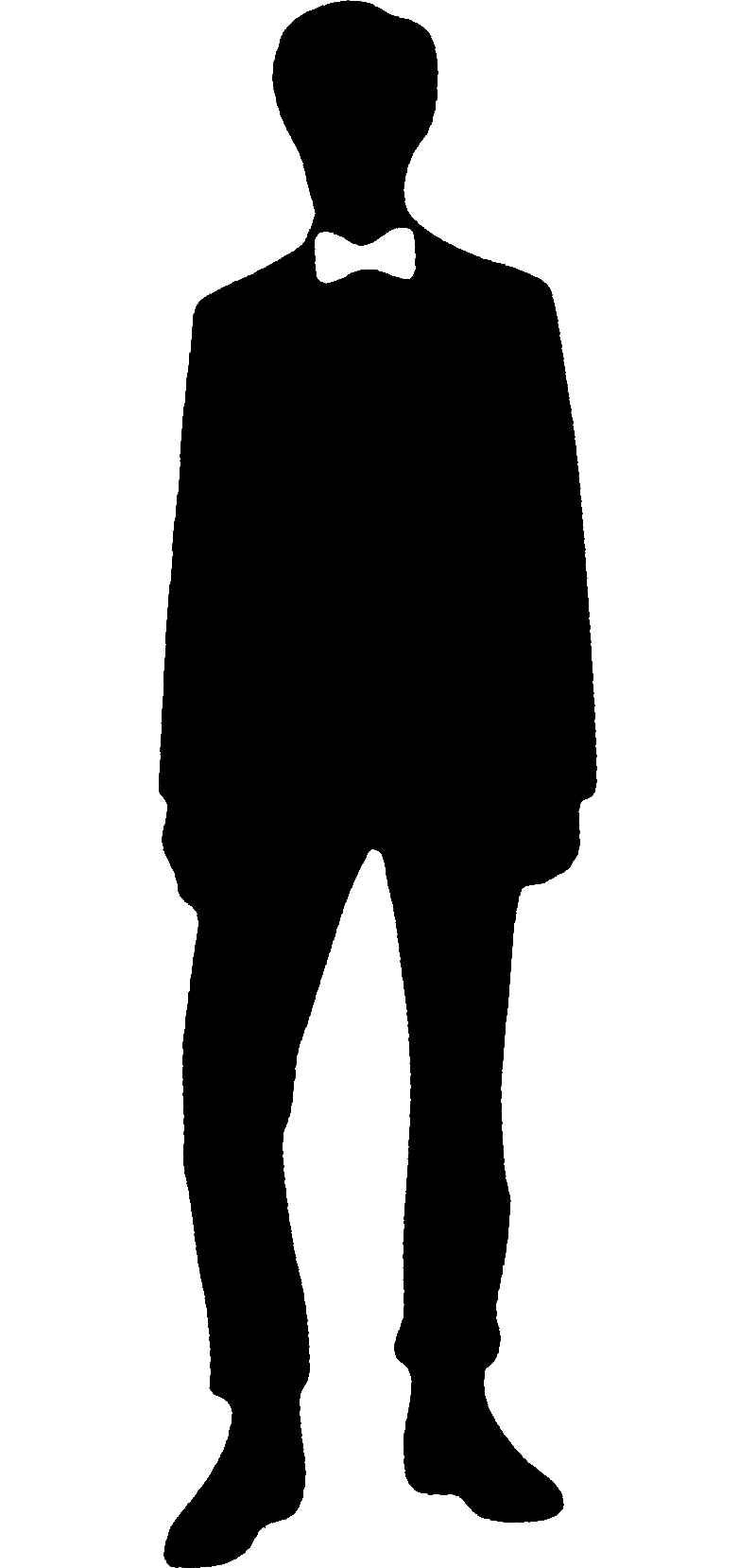 800x1658 11th Doctor Who Bow Tie Silhouette.jpg Crafting