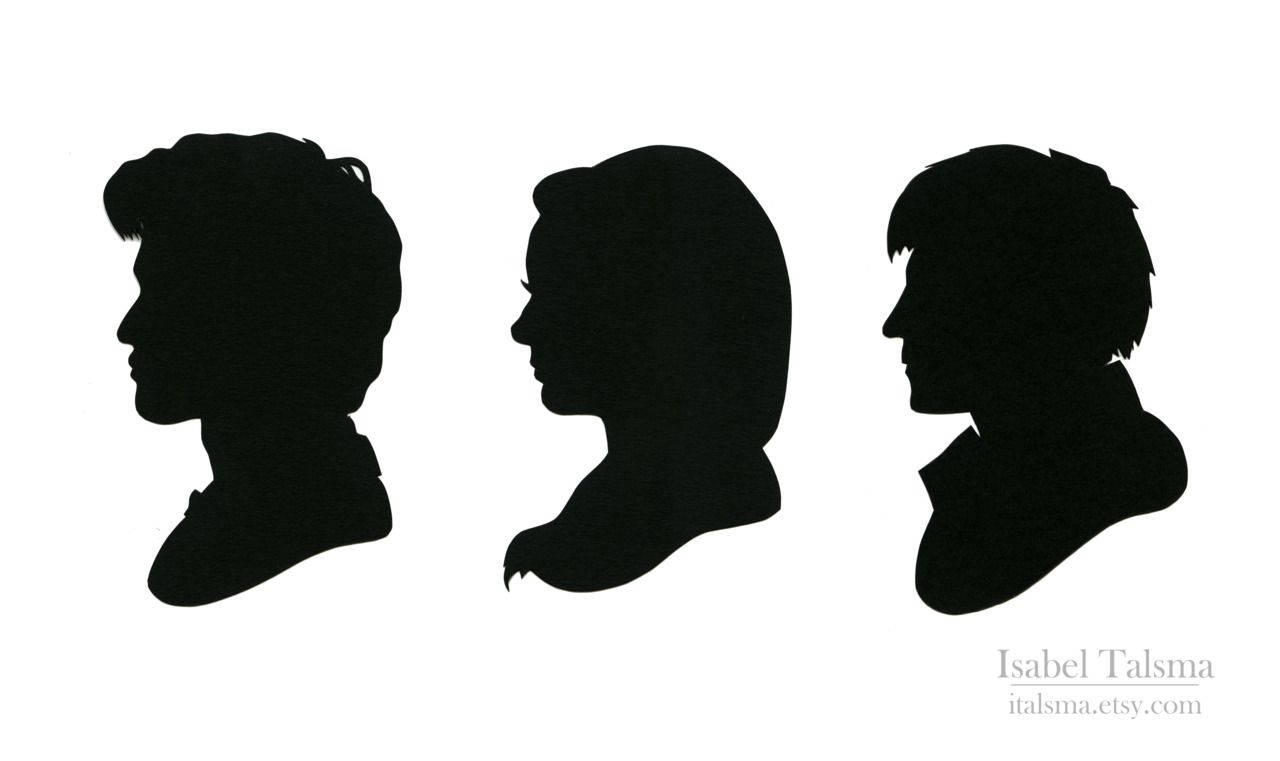 1280x761 Be Extraordinary. Silhouette Set Featuring The 11th Doctor, Amy
