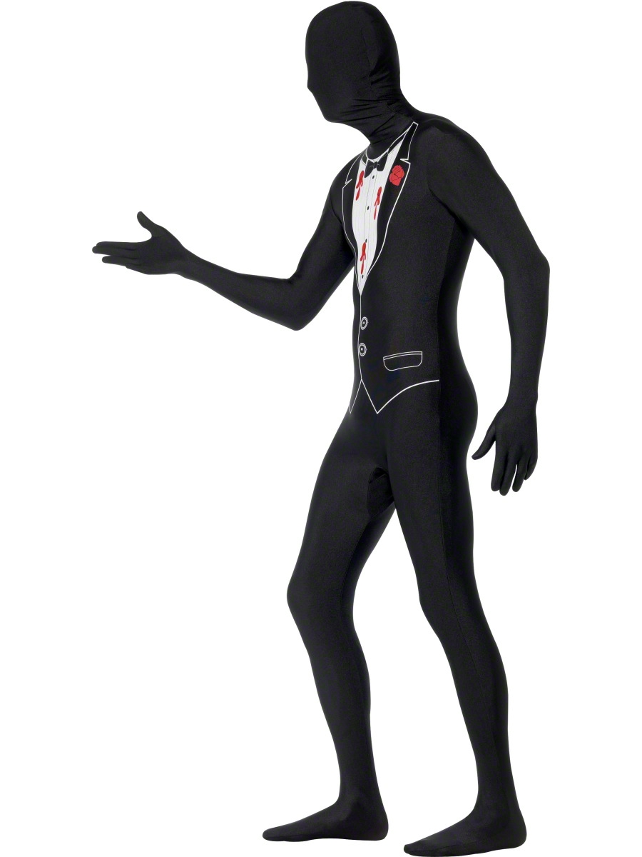 900x1200 Adult Shot Gangster Second Skin Costume