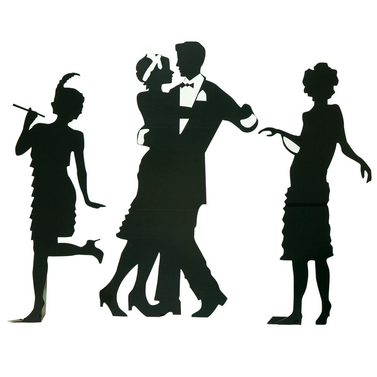 1200x1200 Guys And Dolls Silhouettes Kit (Set Of 3) Prom Decorations
