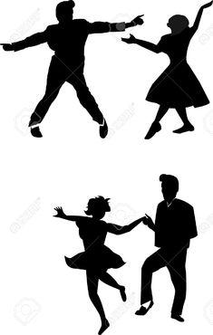 235x370 Images 1950 Kids Sledding Silhouette