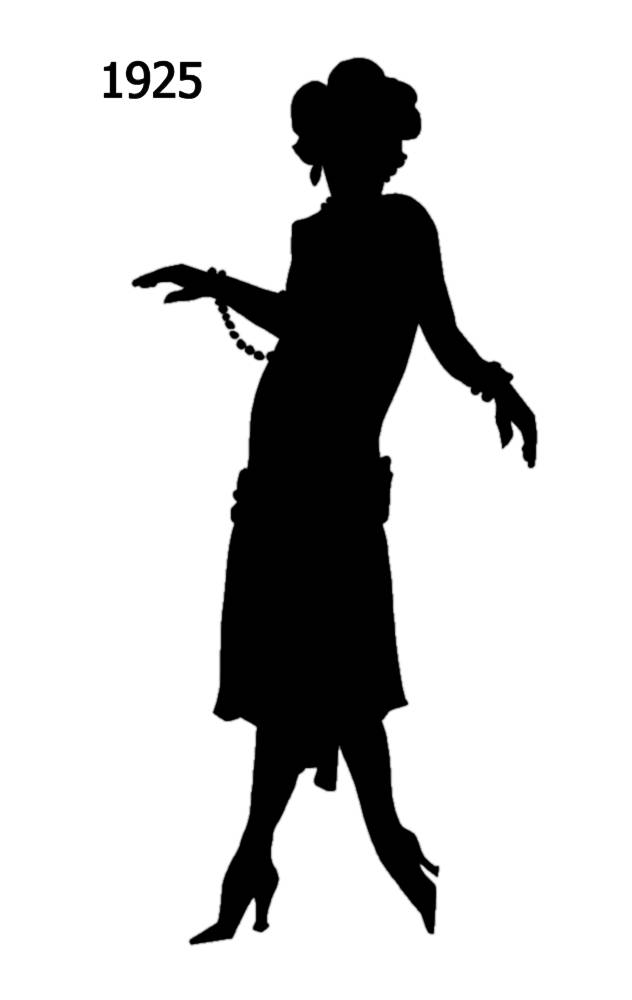 632x1000 Black Silhouettes 1920 To 1930 In Costume History