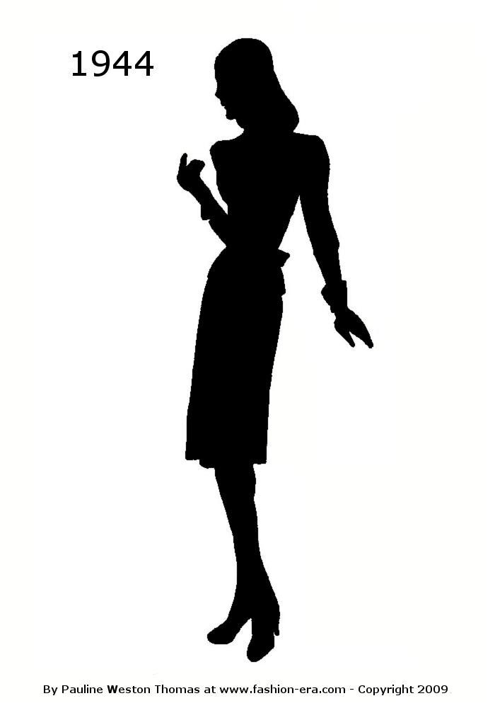 700x1000 Costume History Silhouettes