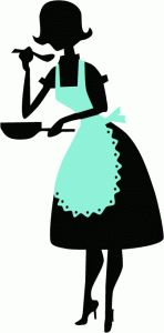 148x300 Image Result For 1950s Apron Silhouette Women