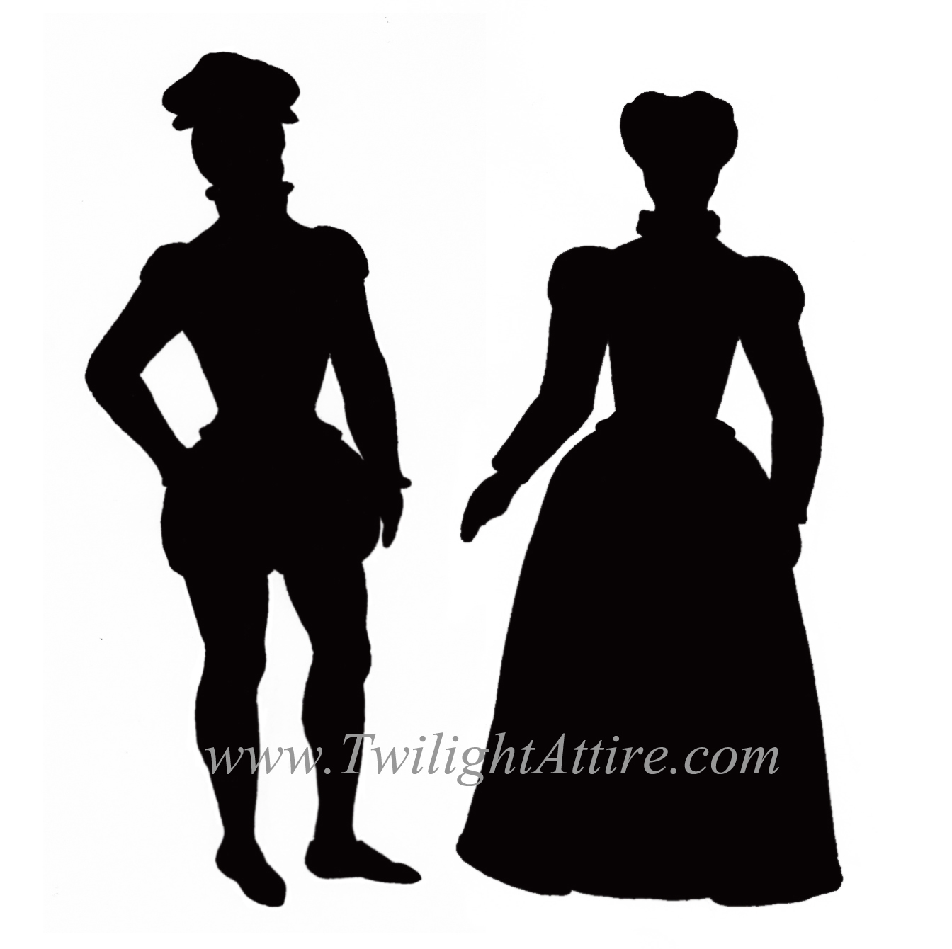 1344x1340 The Elizabethan Silhouette History Repleating History