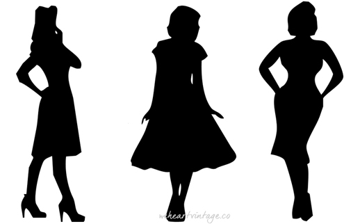 518x322 Vintage Silhouettes 3 Iconic 1950s Dress Styles