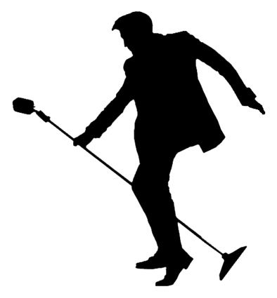 394x425 50s Elvis Silhouette With Mic Stand 1.jpg Silhouettes
