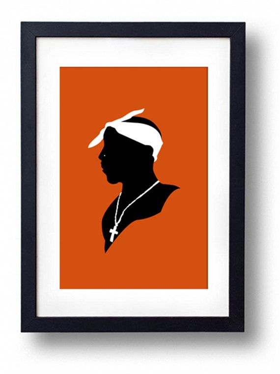 2pac Silhouette