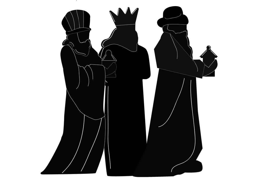 1100x777 Re Drawn 3 Kings In Silhouettes
