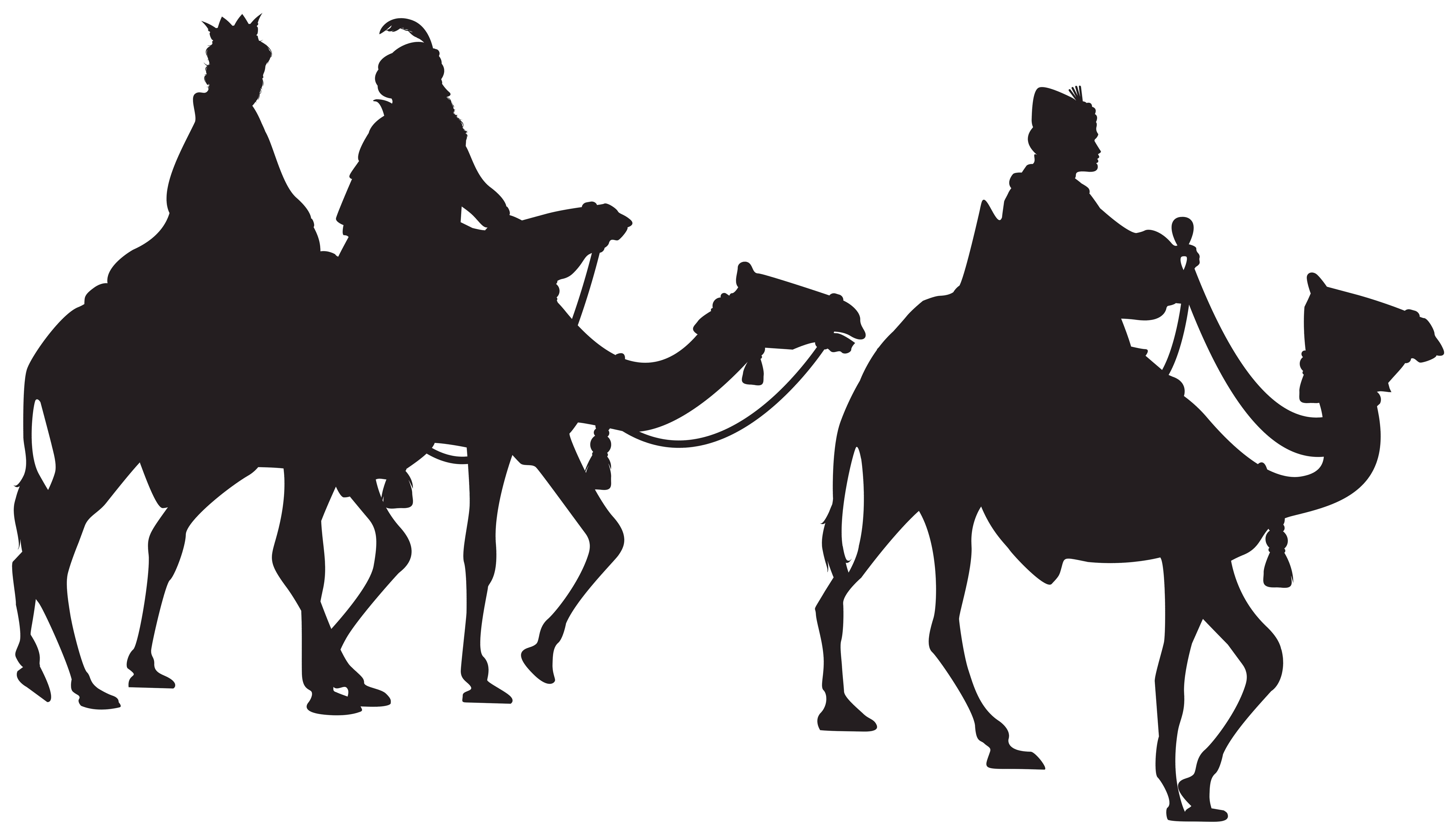 8000x4617 Three Kings Silhouette Png Clip Art Imageu200b Gallery Yopriceville