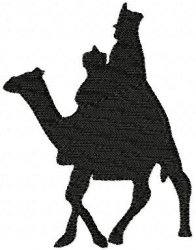 196x250 Nativity Silhouettes Collection Embroidery Designs