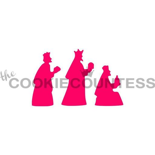 512x512 Christmas Cookie Stencils Page 2 The Cookie Countess