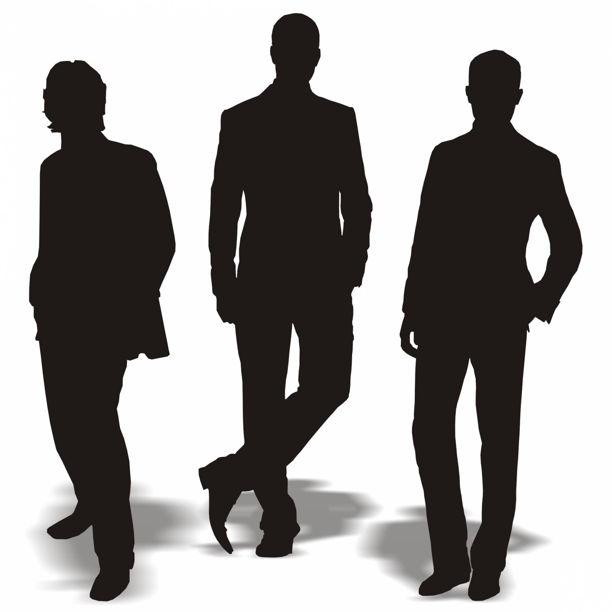 1999x1999 Silhouette Of Men Group