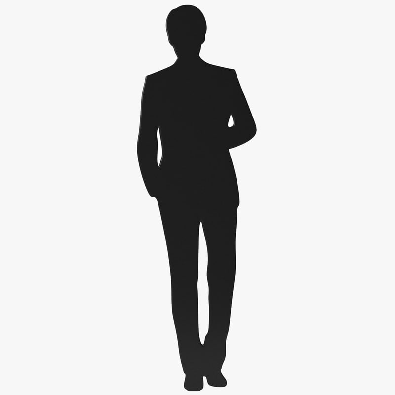 800x800 Silhouette 3d Models For Download Turbosquid