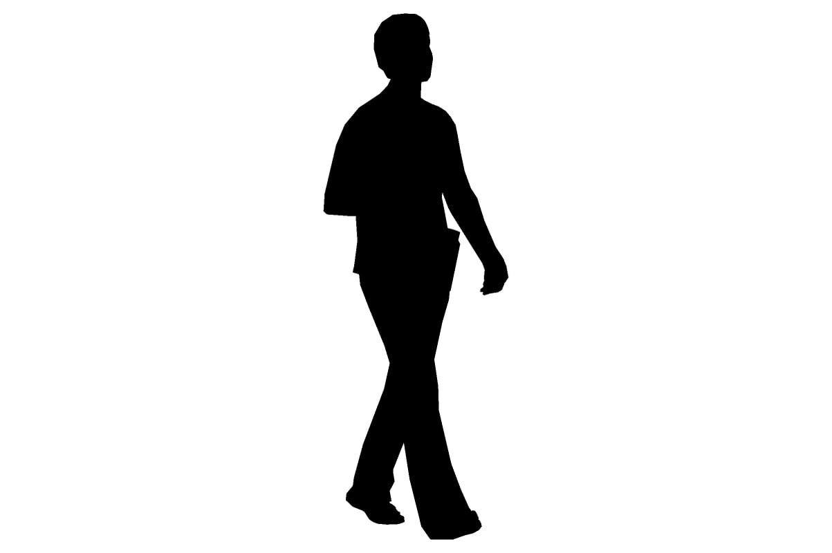 1203x800 Model Silhouette Woman Walking Shorthai