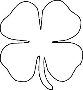 276x298 St. Patrick's Day Shamrock Cake Leaf Clover, Outlines And Clip Art