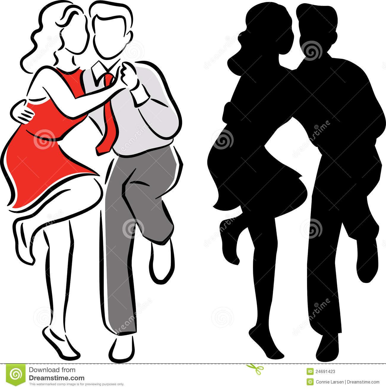 1300x1315 Clip Art Swing Dance Beautiful Dancing Silhouettes