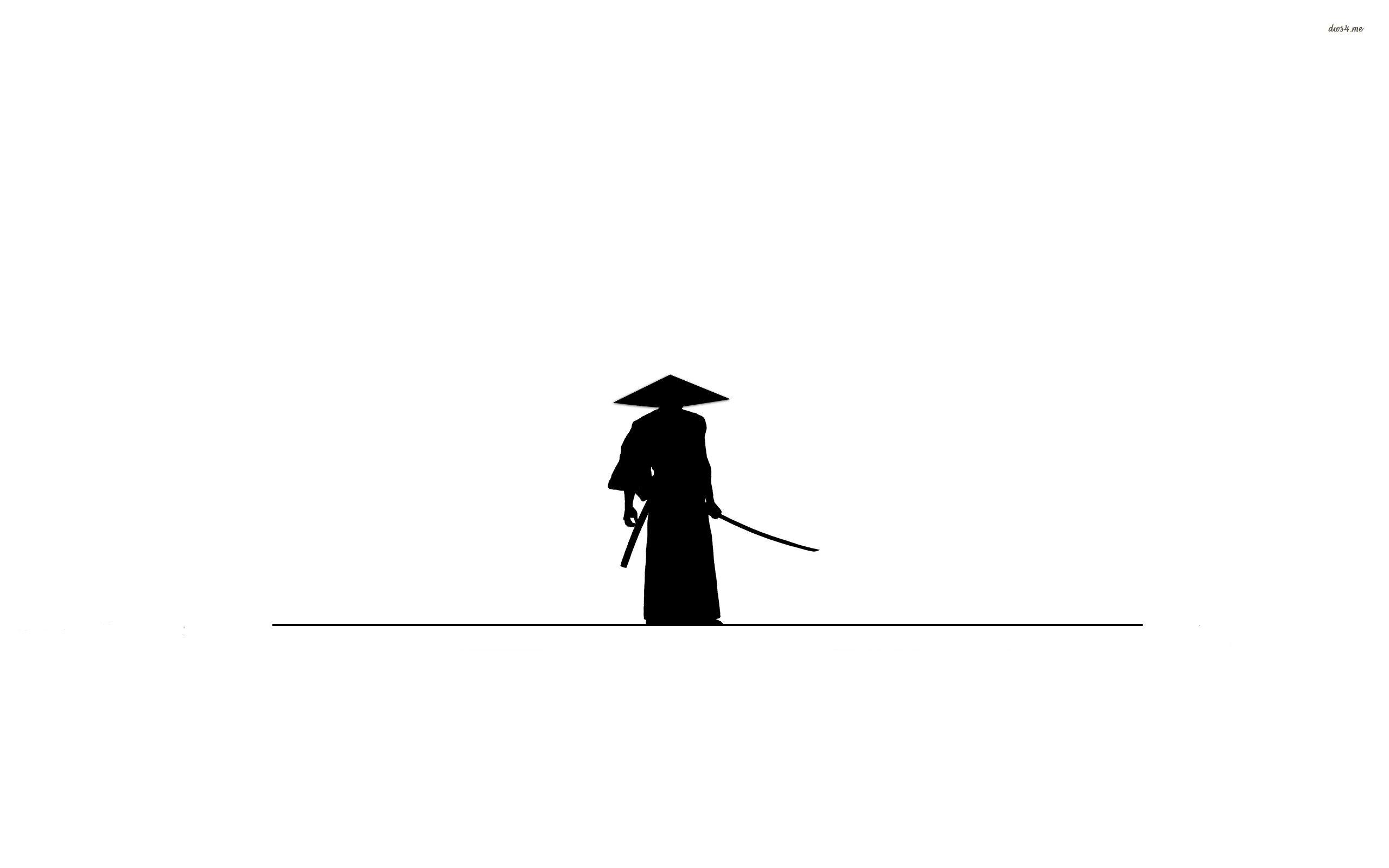 2560x1600 Samurai Silhouette 919202
